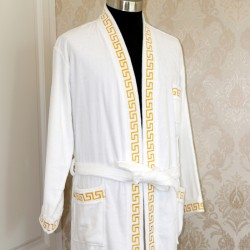 Cotton Embroidery Velour Bathrobes 20pcs pack