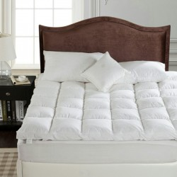 Down Feather Mattress Comforter