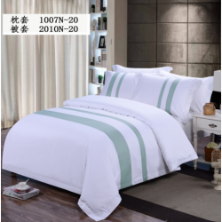 Combed Cotton 300TC Yan Dyed 2010N Bedding Set