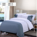 Combed Cotton 300TC Yan Dyed 8010N 80N Bedding Set