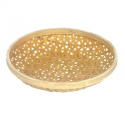Natural Bamboo Weaved Fruit Tray