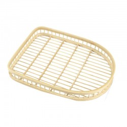 Natural Weaved Bamboo Hand Crafted Shoes Tray