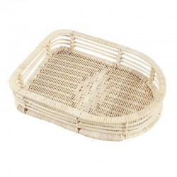 Natural Bamboo Weaved Shoes Tray