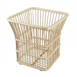 Square Bamboo Hotel Towel Baskets