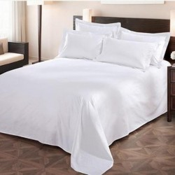 ​Combed Cotton Bed Sheet 250TC 10pcs pack