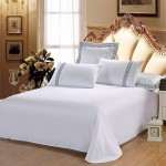Combed Cotton Bed Sheets 300TC 10pcs pack