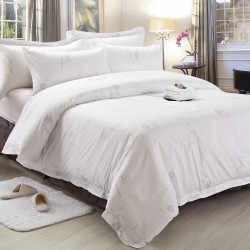 Cotton Bedding Set with Printing Tree 300TC 10pcs pack
