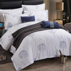 JOSHUA Combed Cotton Duvet Cover with Printing 300TC 10pcs pack
