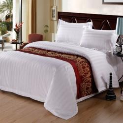 JOSHUA 3cm Satin Strips Cotton Duvet Cover 330TC 10pcs pack