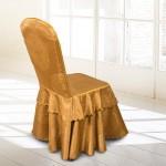 European Classic Jacquard Hotel Chair Cover