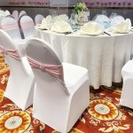 Elastic Unlace Wedding Chair Cover Buckle