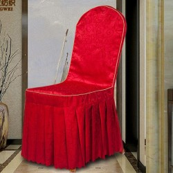 Wedding Pleated Chair Cover