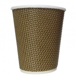 Disposable Single Rippled Wall Paper Cup