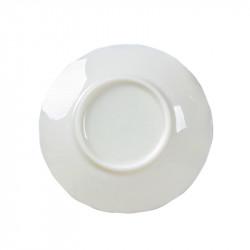 Natural Jade Porcelain Coaster White