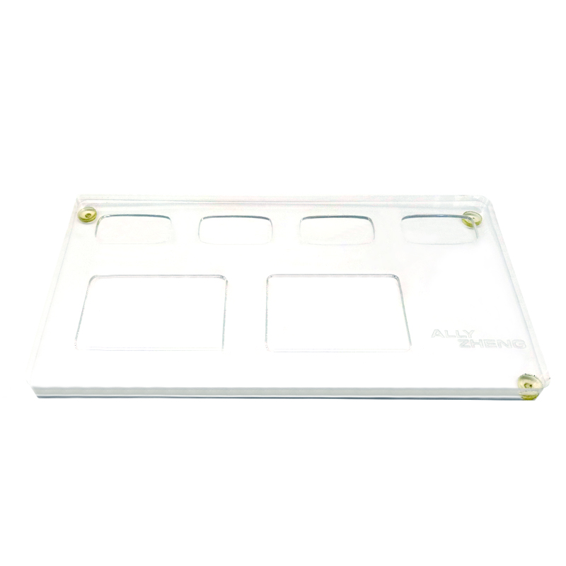 ALLY ZHENG Classic Acrylic Tray 50pcs pack