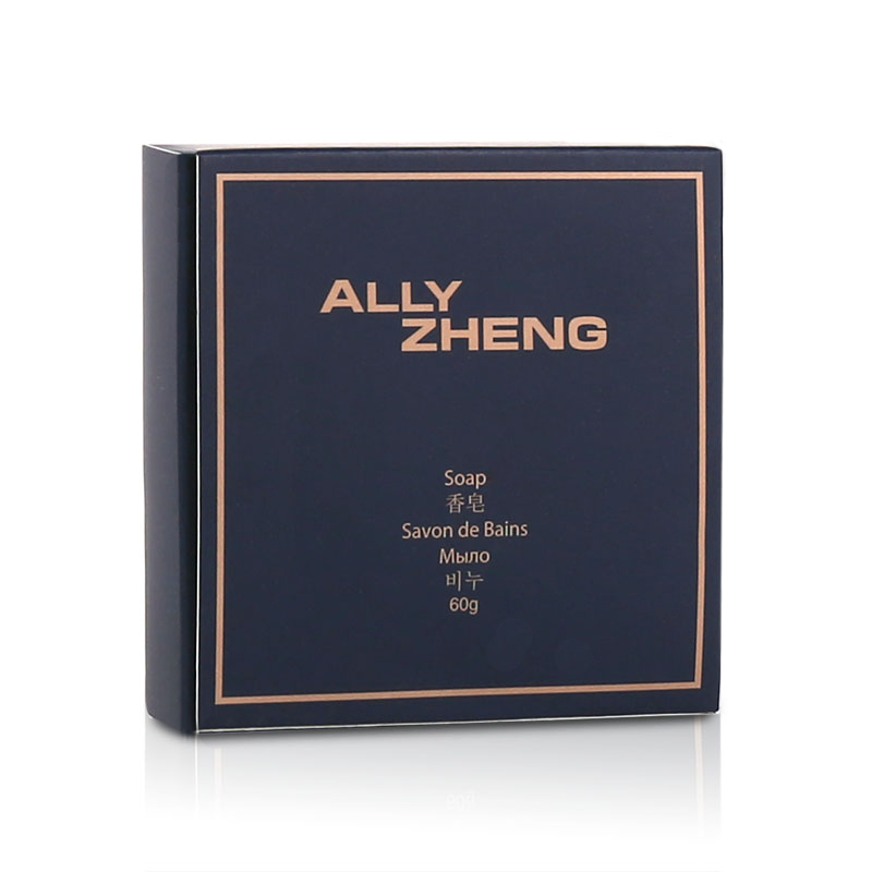ALLY ZHENG Cobalt Blue 60g Natural Bamboo Handmade Soap 200pcs pack