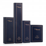 ALLY ZHENG Cobalt Blue Luxury Hotel Amenity Set