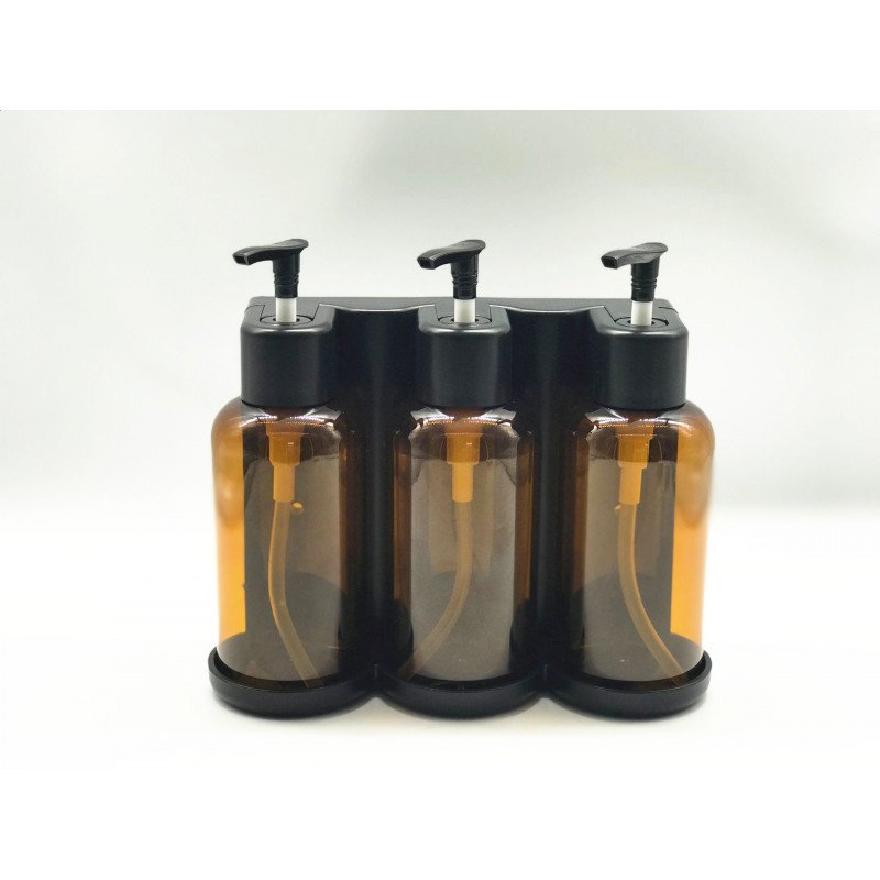 300ml Tamper-proof Bathroom Soap Liquid Dispenser