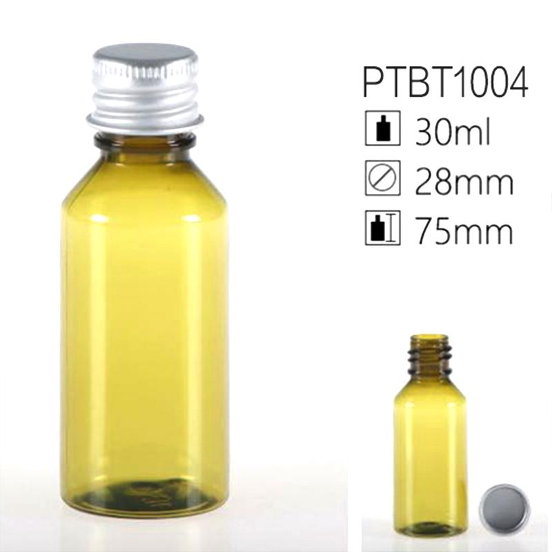 30ml Olive PET Shampoo Conditioner Bottles