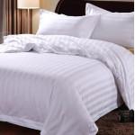 3cm Satin Strips Cotton Bed Sheet 300TC 10pcs pack