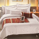 Cotton Bedding Set with Lavandula Printing 300TC 10pcs pack