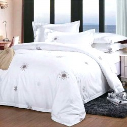 JOSHUA  Combed Cotton Three Pieces Bedding Set with Alice Printing