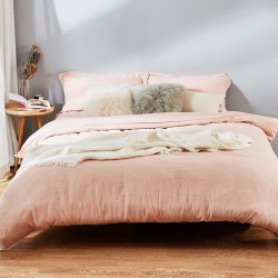 JOSHUA Brand 100% French Natural Linen Bedding Sets