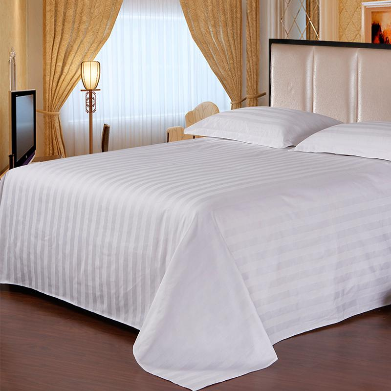 3cm Satin Stips Cotton Duvet Cover 250TC 10pcs pack