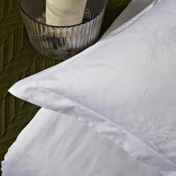 JOSHUA Cotton Pillow case Jacquard Feathers Pattern 250TC 100pcs pack