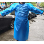 Blue Waterproof Disposable Coverall