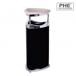 Black Finish Ash Bins 1pc pack
