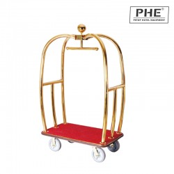 Luxury Titanium Apple Luggage Cart 1pc pack