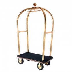 Luxury Apple Stainless Steel Luggage Cart
