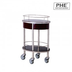 Double Layer Wine and Liquor Trolley 1pc pack