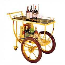 Titanium Beverage Service Cart