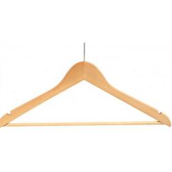 Anti Stolen Wooden Male Hanger 24pcs pack