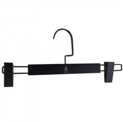 Black Wooden Trousers Hanger 100pcs pack