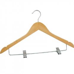 Ecru Lotus Color Womens Shirt Hanger 100pcs pack