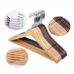 Wooden Antiskid Hangers 100pcs pack