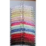 Satin Hanger with Ribbon Wrapper 200pcs pack