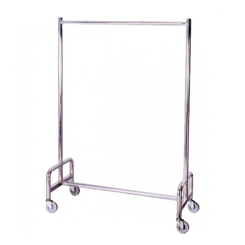 Quality Stainless Steel Cone Linen Trolley