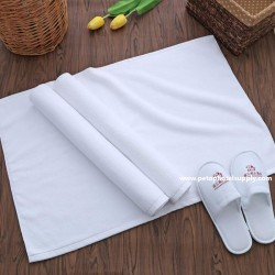 21S Budget Hotel 100% comb cotton Floor Towel Bath Mat 50pcs pack