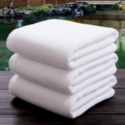 21S Double Yarn Plain Wave Cotton Bath Towel 40pcs pack