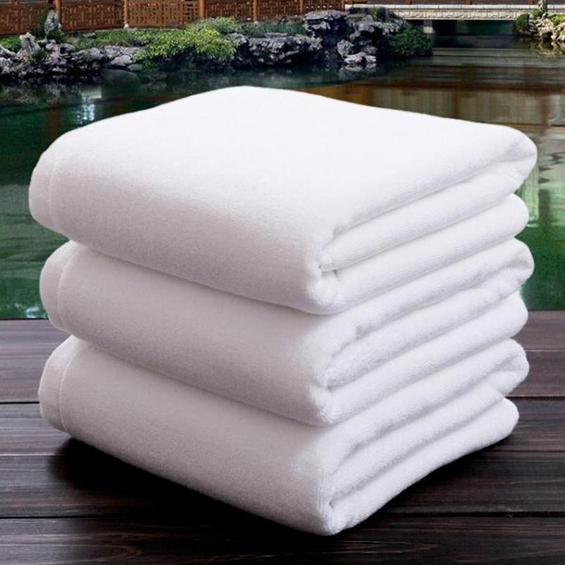 21S Double Yarn Plain Wave Cotton Bath Towel 40pcs pack