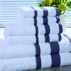 Star Hotel 16S Cotton Yarn Dyed Satin Bath Towel 40pcs pack