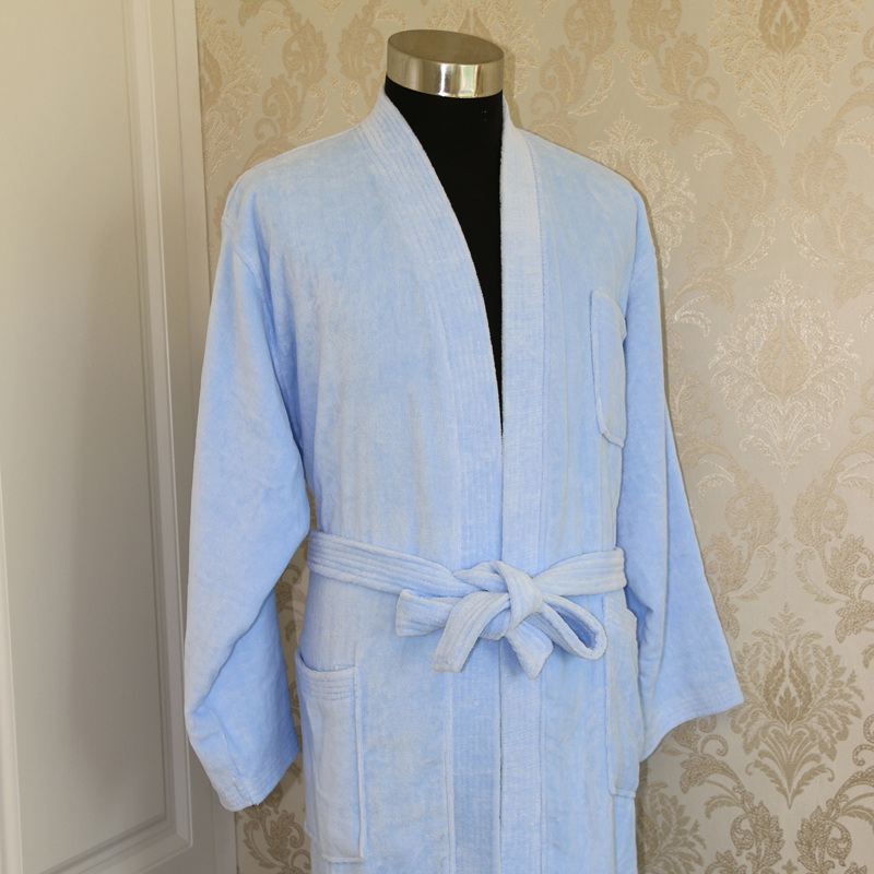 Cotton Dyed Velvet Bathrobe 20pcs pack