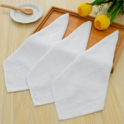 32S Cotton Double Yarn Plain Wave Face Towel 300pcs pack