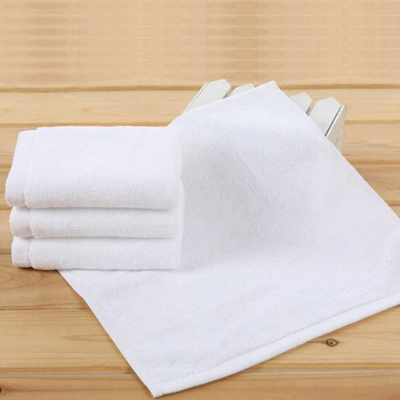 Double Face Technology Towel: Cotton Hotel Towels In White China Wholesale Hotel