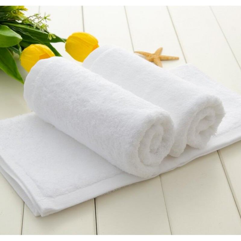 16S Cotton White Hand Towel 150pcs pack