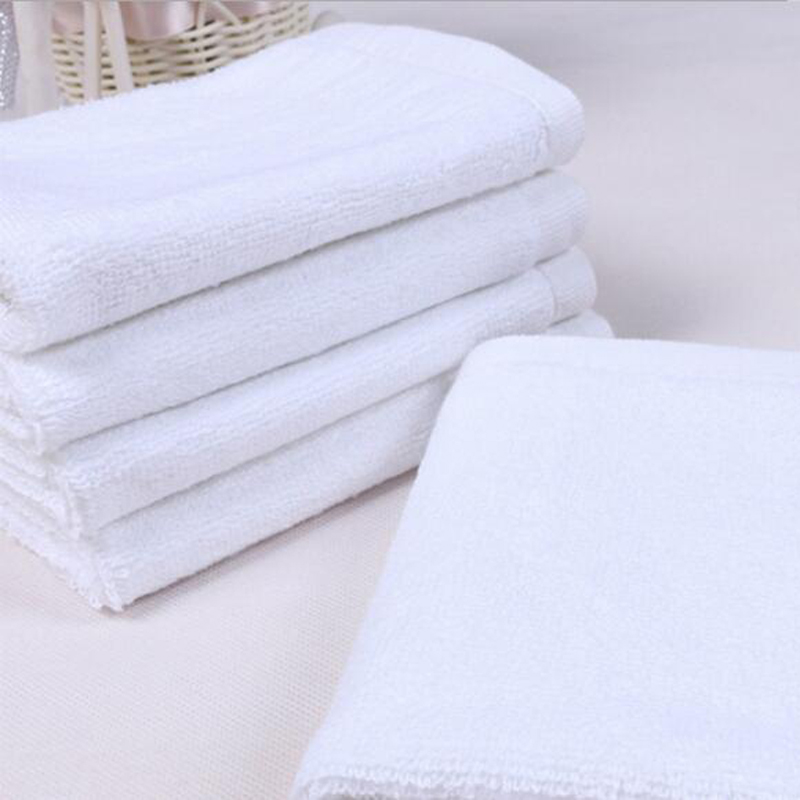 21S Double Yarn Plain Wave Cotton Hand Towel 150pcs pack